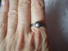 Ladies Titanium ball band ring, size P/Q, set in 2.8 grams of Titanium