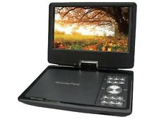 "QFX PDT-309DTV 9"" Portable DVD/CD Player TV +Rechargeable +USB/SD +Game Function"