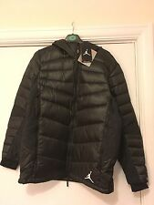 NIKE AIR JORDAN HYPERPLY 700 DOWN JACKET BLACK MENS SIZE Medium