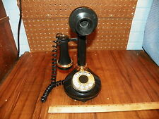 1973 AMERICAN TELECOMMUNICATIONS CORP Candlestick Rotary Dial Phone