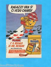 TOP986-PUBBLICITA'/ADVERTISING-1986- NESTLE' - NESQUICK - PILAQUICK