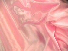 Pink Slipper Satin/Silky/Shiny Dress Fabric150cm Wide SOLD BY THE METRE FREE P+P