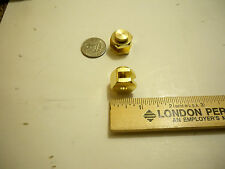 PAIR OF BRASS STAIR GAUGES, GAGES FOR FRAMING  RAFTER SQUARES TOOLS  EMPIRE 105