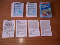 Vintage Ridiculous Riddles Cards Jokes / 3 Great Games WADDINGTONS Rare 1987