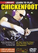 LICK LIBRARY Learn to Play CHICKENFOOT Joe Satriani Rock Chicken Foot Guitar DVD