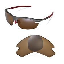 New Walleva Polarized Brown Replacement Lenses For Rudy Project Rydon Sunglasses