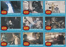 STAR WARS HERITAGE 2004 TOPPS COMPLETE BASE CARD SET OF 120