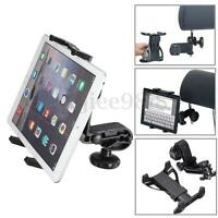 """360° Universal Car Mount Bracket Holder Stand For IPad Air 5 4 Tablet GPS 7""""-12"""""""