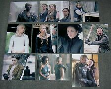 SET OF TEN GAME OF THRONES 10 x 8 PHOTO'S,BARGAIN LOT.FREE POSTAGE! 01
