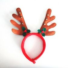 Christmas Antlers Bells Head Bands Party Ornament Cute Decorations