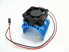 Aluminum Heat sink & 5V Cooling Fan for 1/10 Car 540 550 Size Motor