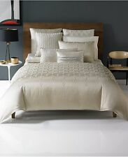 Hotel Collection Crystalle KING Duvet Comforter Cover CHAMPAGNE Bedding C064