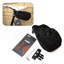 CBR Bike Bicycle Cycling Saddle Seat Pack Tail Storage Wedge Bag Quick Release