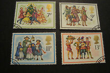 GB 1978 Commemorative Stamps~Christmas~Very Fine Used Set~UK Seller