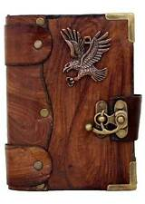 Flying Eagle Pendant Brown Leather Journal / Diary / Sketchbook / Lock /Notebook