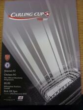 25/02/2007 Football League Cup Final: Arsenale V Chelsea [a Cardiff ARMS Park].