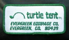 TURTLE TENT EVERGREEN COLORADO EMBROIDERED SEW PATCH TENT AND CRIB FOR CHILDREN