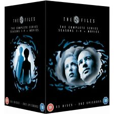 """THE X FILES COMPLETE SERIES COLLECTION 55 DISC DVD BOX SET R4 """"NEW&SEALED"""""""