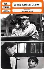 FICHE CINEMA : LE VIEIL HOMME ET L'ENFANT - Simon,Cohen,Berri 1967 The Two of Us