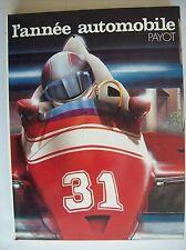 l'année automobile numéro 31 1983/84 TBE formule un course compétition