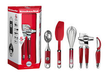 KitchenAid 5 tlg. Küchenhelfer-Set Empire Rot KM412ER Professional Gadget