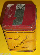 Donniford Pipe Smoking Mixture 8 OZ Gold Tobacco Tin - Lift Up Top Nice See!