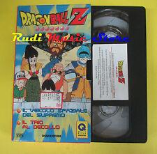 film VHS cartonata DRAGONBALL Z 19 Il veicolo spaziale del supremo (F70) no dvd
