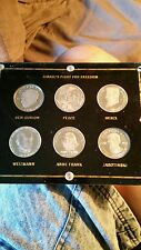 ISRAEL'S FIGHT FOR FREEDOM, 6 PROOF  COIN SET IN CUSTOM HOLDER