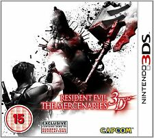 Resident Evil: The Mercenaries 3D (Nintendo 3DS) Nintendo 3DS PAL Brand New