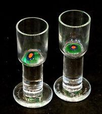 RARE! Vintage HEIKKI ORVOLA / NUUTAJARVI NOTSJO Glass MID-CENTURY DANISH MODERN