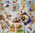 Lot of 16pcs Vintage Post card Postcard Postcards SEXY LADY
