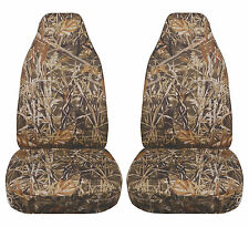 JEEP WRANGLER TJ 1997-2002 CAMOUFLAGE CAR SEAT COVERS WETLANDS DESIGN