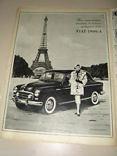 FIAT 1900 A TORRE EIFFEL FOTO BY JACQUES ROUCHON=PUBBLICITA'=ADVERTISING=WERBUNG