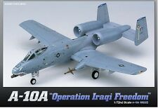 Academy 1/72 Plastic Model Kit A-10A Operation Iraqi Freedom NIB Fairchild 12402