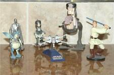 VINTAGE STAR WARS ACTION FIGURE SET ~ 6 CHARACTERS & MONSTERS ~ OBI-WAN +5