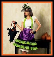 PATTERN McCalls Witch Hair Facinator Hat Apron Ghost HALLOWEEN Treat Bag 6811