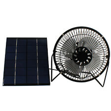 5W Solar Panel Runs USB Mini Fan Coolling chicken House Ventilation