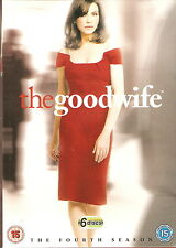 THE GOOD WIFE - Series 4. Julianna Margulies (6xDVD SLIM BOX SET 2013)