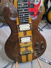 RARE 1983 PEDULLA EMS NECK THRU GUITAR WITH CASE