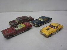 4 Vintage CORGI Cars