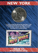USPS New York State Quarter� and Stamp Set