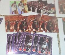 ALL 1997-98 CHAUNCEY BILLUPS RC 10 FINEST + 10 SP AUTHENTIC + 5 ULTRA +2 EX 2001
