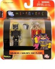 DC Direct Universe Toys MiniMates Wave 4 Golden Age Flash & Wildcat Mini Figure