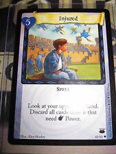 HARRY POTTER TCG GAME CARD DIAGON ALLEY INJURED 40/ 80 UNCO ENGLISH MINT NEUF