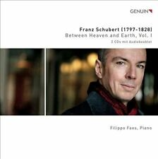 NEW Between Heaven And Earth, Vol. 1: Franz Schubert by Filippo Faes CD (CD)