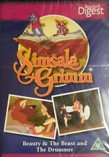 Simsala Grimm Kids fairy tales/ The Drummer/Beauty & The Beast (Dvd 2010) NEW !