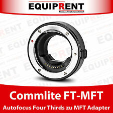 Commlite CoMix CM-FT-MFT Four Thirds zu Micro Four Thirds MFT AF Adapter (EQH90)