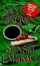 Sunset Embrace Sandra Brown 1997 Paperback Novel Passion Romance Drama Love USA