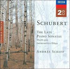 Schubert: The Late Piano Sonatas, D. 958-960 (CD, Sep-2003, 2 Discs, Decca)