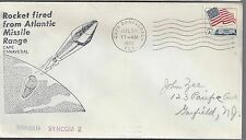 1963 Syncom 2 Satellite launched on a Thor-Delta Rocket from Canaveral